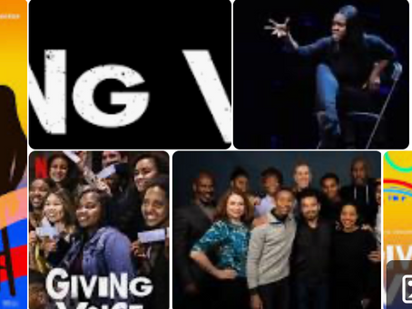 HANNAH FRANKLIN IN NETFLIX'S GIVING VOICE
