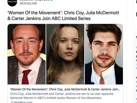Julia McDermott joins cast of ABC's Women of the Movement