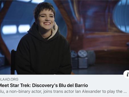 Blu del Barrio joins cast of Star Trek