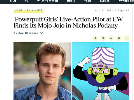 Nick Podany joins cast of CW's Powerpuff Girls!