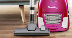 Simplicity Jill Canister Vacuum Cleaner Promotion