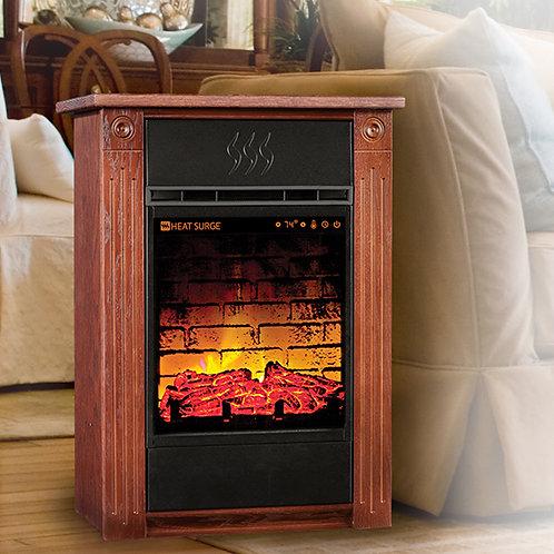 Heat Surge Accent Power Tower All Season Touch Screen Fireplace & Air Purifier