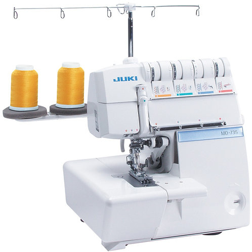 Juki MO-735 2/3/4/5 Thread Overlock with Chainstitch and Coverstitch