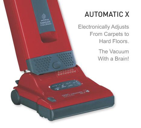 SEBO AUTOMATIC X4, X4 Boost and X5 Upright Vacuum
