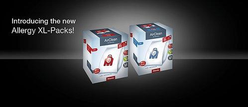Miele Allergy XL-Packs -  8 FilterBags, 2 Pre-Motor Filters &1 HEPA Filter
