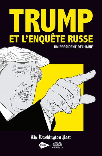 """""""Trump et l'enquête russe"""", première BD en coédition avec Disclose"""