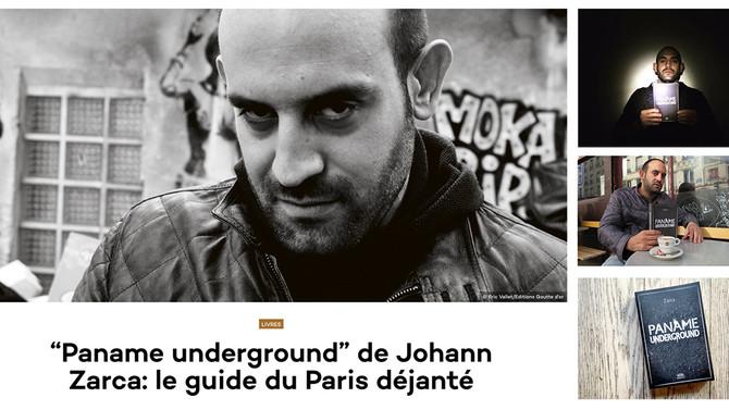 """Paname Underground"" dans la presse"