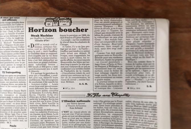 """La critique de """"Steak Machine"""" dans """"Le Canard enchaîné"""""""