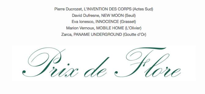 """""""Paname Underground"""" de Zarca finaliste pour le prix de Flore"""