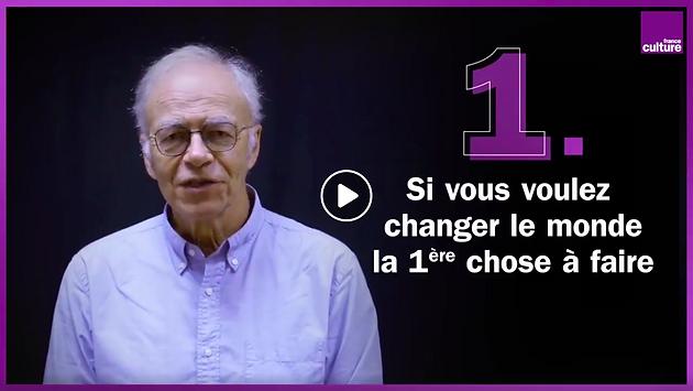 Peter Singer invité de La grande table sur France culture ...