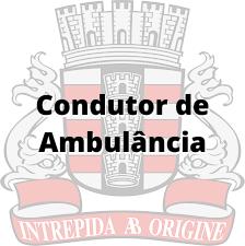 João Pessoa - PB / Condutor de Ambulância