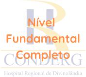CONDERG / Nível Fundamental Completo