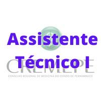 CREMEPE - PE / Assistente Técnico I
