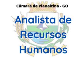 Câmara de Planaltina - GO / Analista de Recursos Humanos