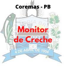 Coremas - PB / Monitor de Creche