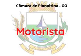 Câmara de Planaltina - GO / Motorista