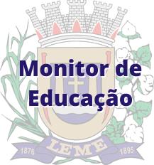 Leme - SP / Monitor de Educação