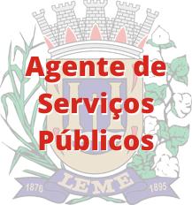 Leme - SP / Agente de Serviços Públicos