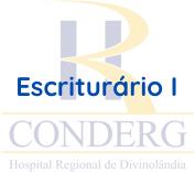 CONDERG / Escriturário I