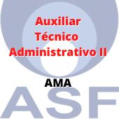 ASF / Auxiliar Técnico Administrativo II - AMA