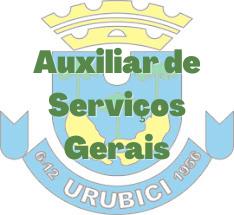 Urubici - SC / Auxiliar de Serviços Gerais
