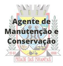 Maravilha - SC / Agente de Manutenção e Conservação