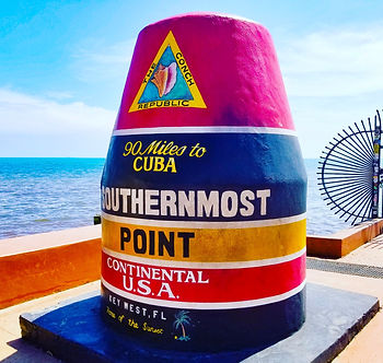 Southernmost Point Attraction in Key Wes