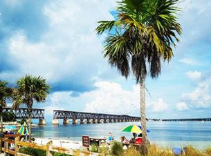 Best Beach in the Florida Keys at Bahia Honda State Park and Bridge