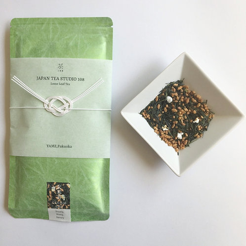 YAME GENMAICHA (Green Tea with Toasted Brown Rice)