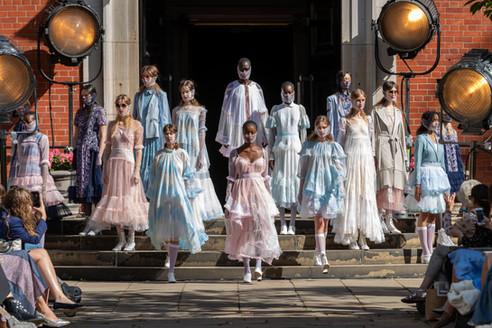 BORA AKSU SS21 SHOW LONDON FASHION WEEK