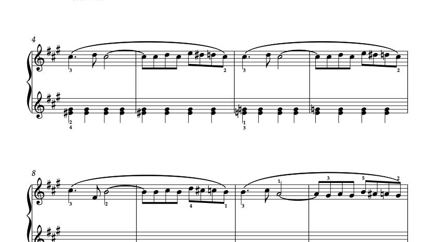 """Interlude II/あるひととき"" ピアノ小品 ソロ 楽譜"