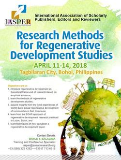Regenerative Research Methods