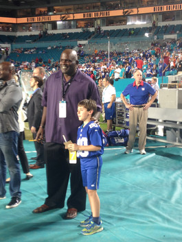 Zack and Lawrence Taylor