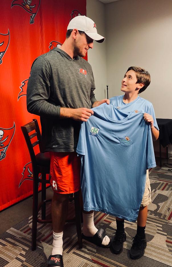 Bradley Pinion with Zack