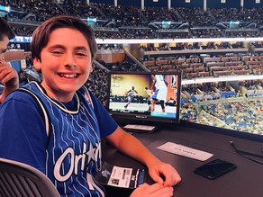 Giving Back with Zack: In Orlando with the Magic