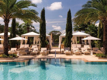 A luxury oasis just an hour away: Four Seasons Resort Orlando