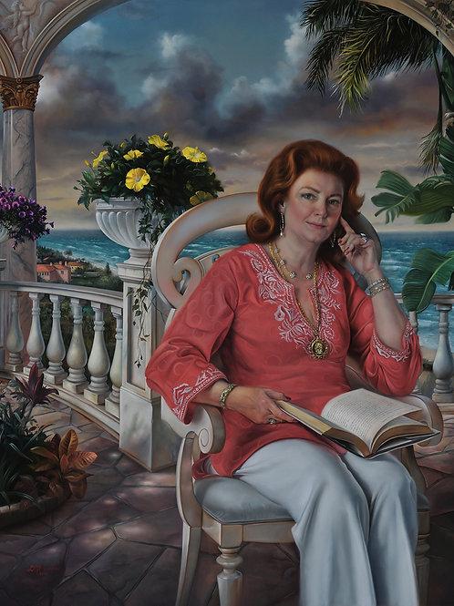 Kathleen Rooney, 36 x 30, oil on linen