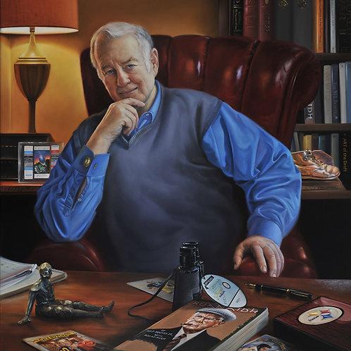 Art J. Rooney, Jr., 24 x 22, oil on linen