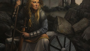 """Lisa the Shield Maiden""  shown at the MEAM museum"