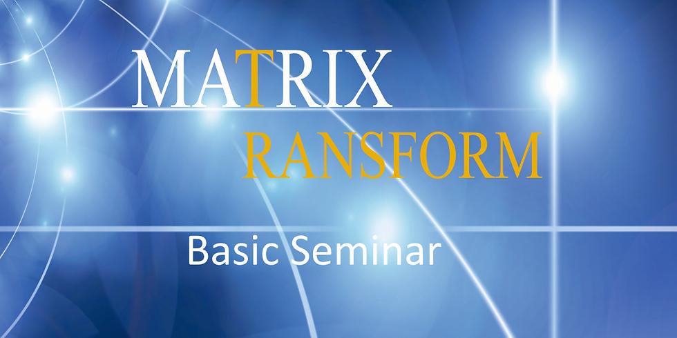 Seminar - MATRIX Transform Basic