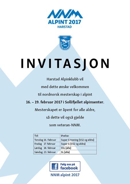 Harstad inviterer til Nord-Norsk Mesterskap