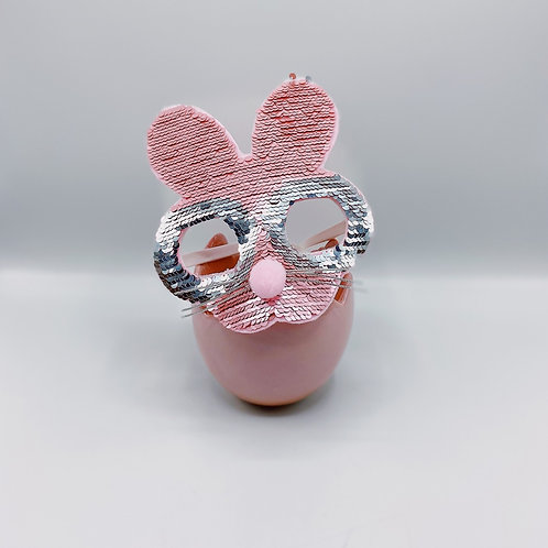 "Pink Bunny Glasses (8"")"
