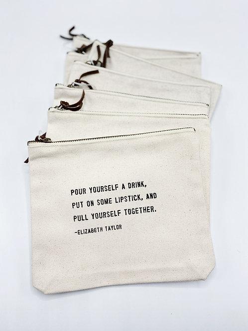 Canvas Bag  Elizabeth Taylor