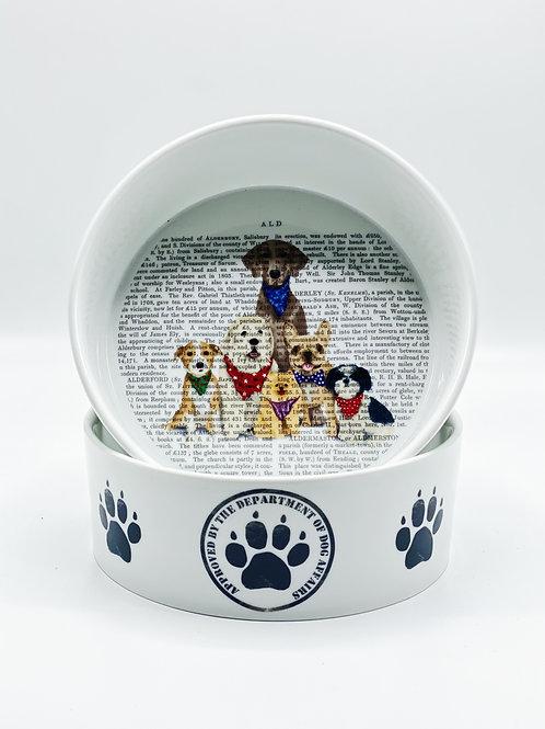 Paw Paw Gang Dog Bowl