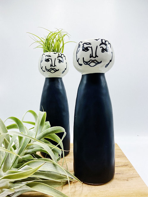 Tall Lady & Gents Planter