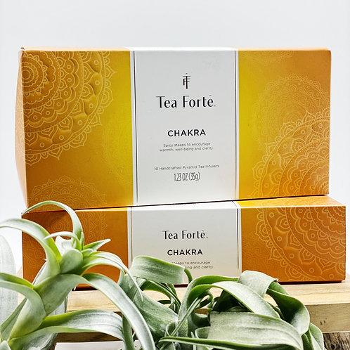 Tea Fortē Chakra Petite Presentation