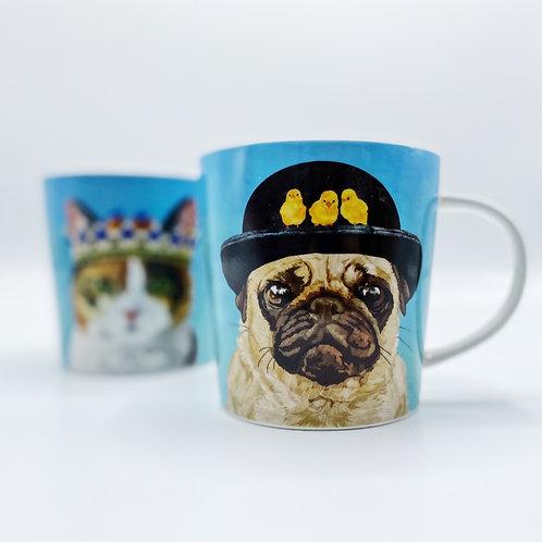 Hudson Pug Mug