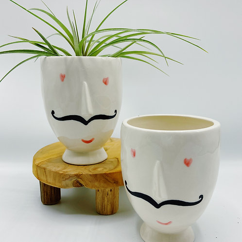 Monsieur Footed Pot