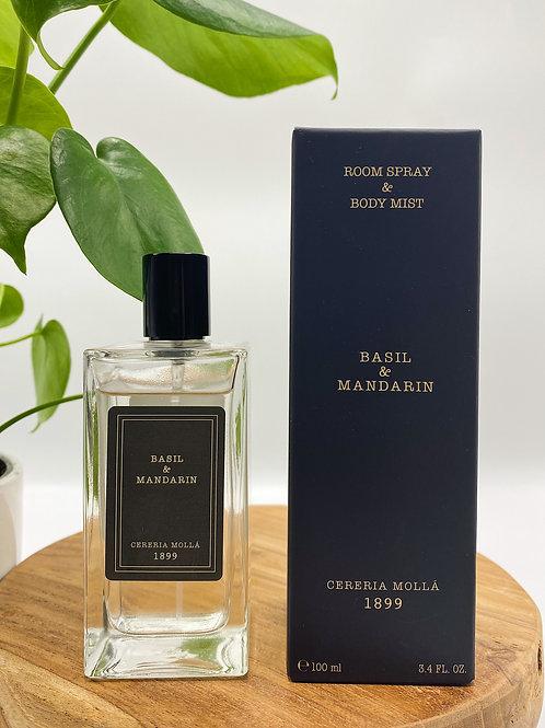 Basil & Mandarin Room Spray & Body Mist
