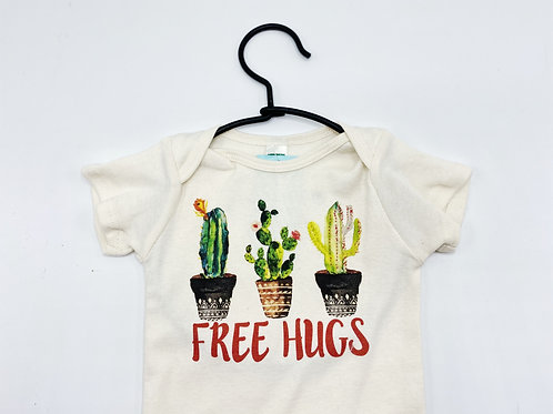 Free Hugs Organic Bodysuit